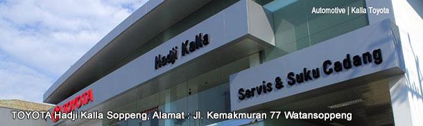 Showroom TOYOTA Hadji Kalla SOPPENG, Sulawesi Selatan INDONESIA