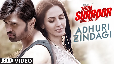 ADHURI ZINDAGI TERAA SURROOR New Indian Video Songs 2016 Himesh Reshammiya and Farah Karimaee