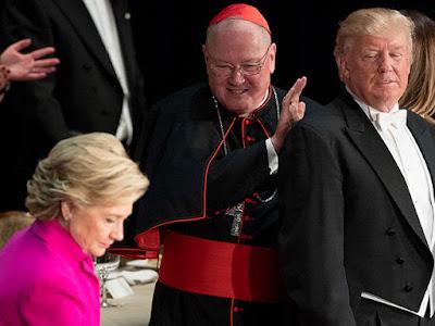Dolan, Clinton, Trump