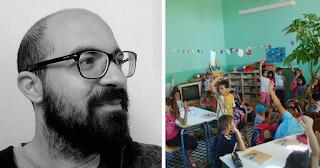 O νεαρός δάσκαλος έφτιαξε ένα αλλιώτικο σχολείο στο ορεινό Ρέθυμνο