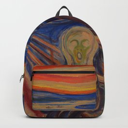 Edvard Munch The Scream backpack