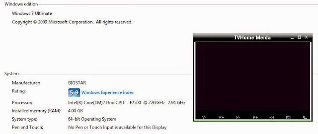 Akhirnya berhasil install GADMEI UTV330 di Windows 7 64bit