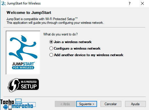 Join a Wireless network jumpstart