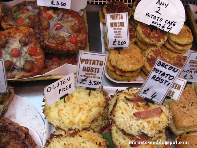 Рынок Сент-Джордж - ирландский картофельный пирожок