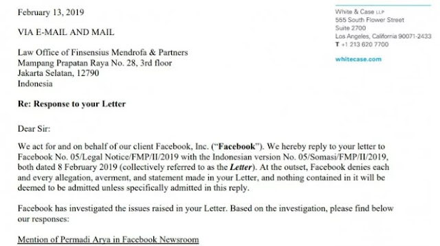 Facebook Tolak Ajakan Klarifikasi Abu Janda