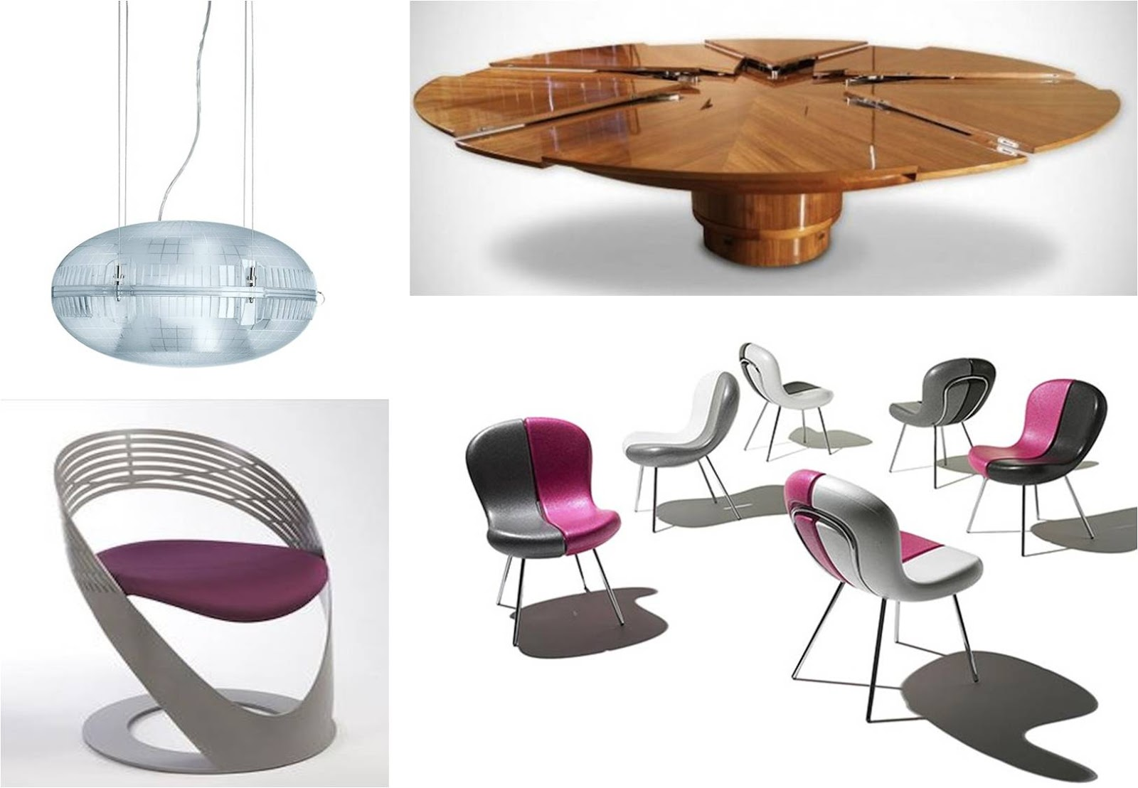 Actualiza tu vivienda con muebles y objetos modernos 2018 for Comedores circulares modernos