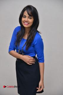 Actress Nandita Swetha Stills in Black Mini Skirt at Ekkadiki Potavu Chinnavada Movie Special Show  0039.JPG