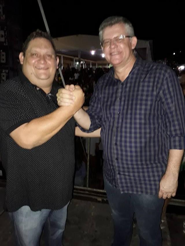 Pacujá-CE: Vereador Braz Rodrigues adere ao grupo do prefeito Alex Melo