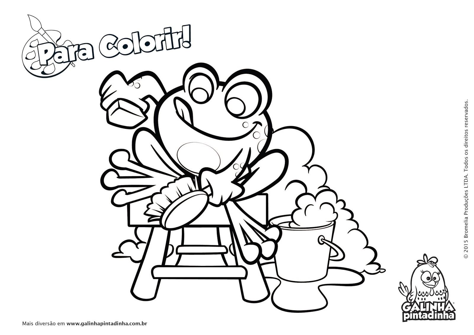 Muitos desenhos da galinha pintadinha para colorir pintar for Imprimir fotos baratas