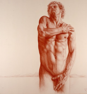 Dibujos Y Oleos De Desnudos Masculinos