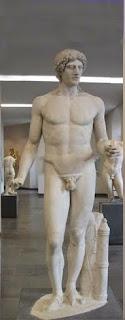 Apollon Parnopios af Fidias 450 a.C.-4