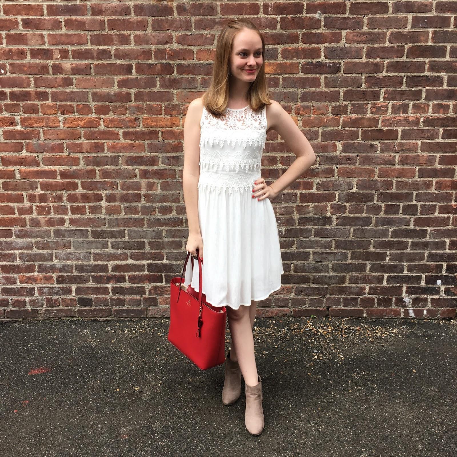 C luce white dress quot