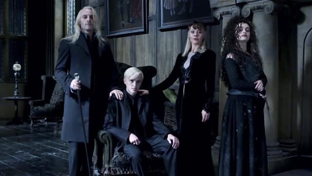 Семейство Малфой и Белатрикс Лестранж - Хари Потър и даровете на смъртта