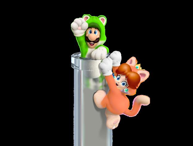 Render Luigi,Daisy
