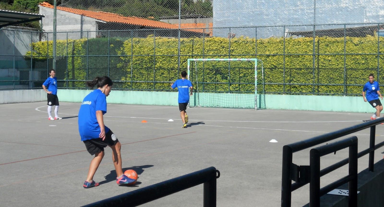 45306ebd94bea S.C.Canidelo Futsal Feminino  PRÉ-ÉPOCA COM NOVO EQUIPAMENTO DE TREINO!