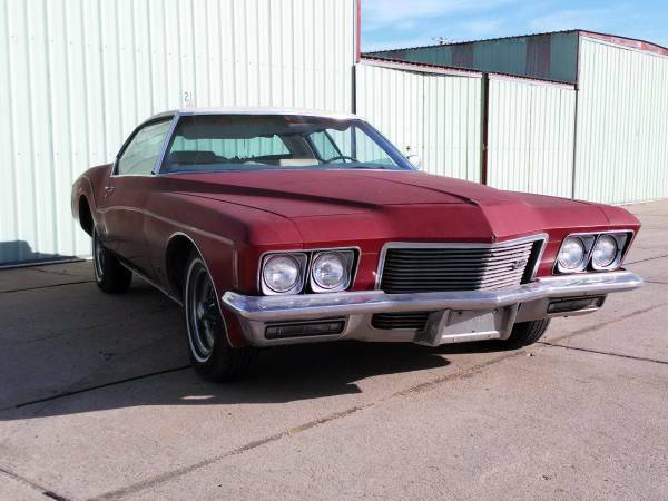 1971 buick riviera for sale buy american muscle car. Black Bedroom Furniture Sets. Home Design Ideas