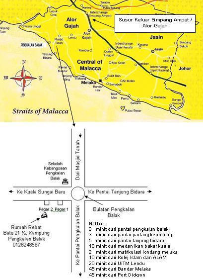Rumah Rehat ala Homestay Chalet Pengkalan Balak 3 Masjid