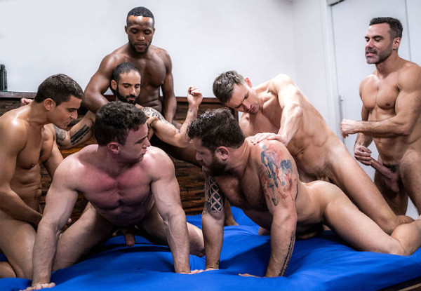 The Lucas Men Gang, Bang And Pound – Part 2 – Bareback