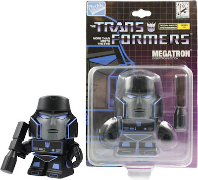 San Diego Comic-Con 2013 Exclusive Midnight Edition Cybertron Megatron Transformers Mini Figure Packaging by The Loyal Subjects