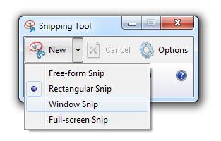 Cara Mudah dan Hebat Mengambil Screenshot Pada Windows 7