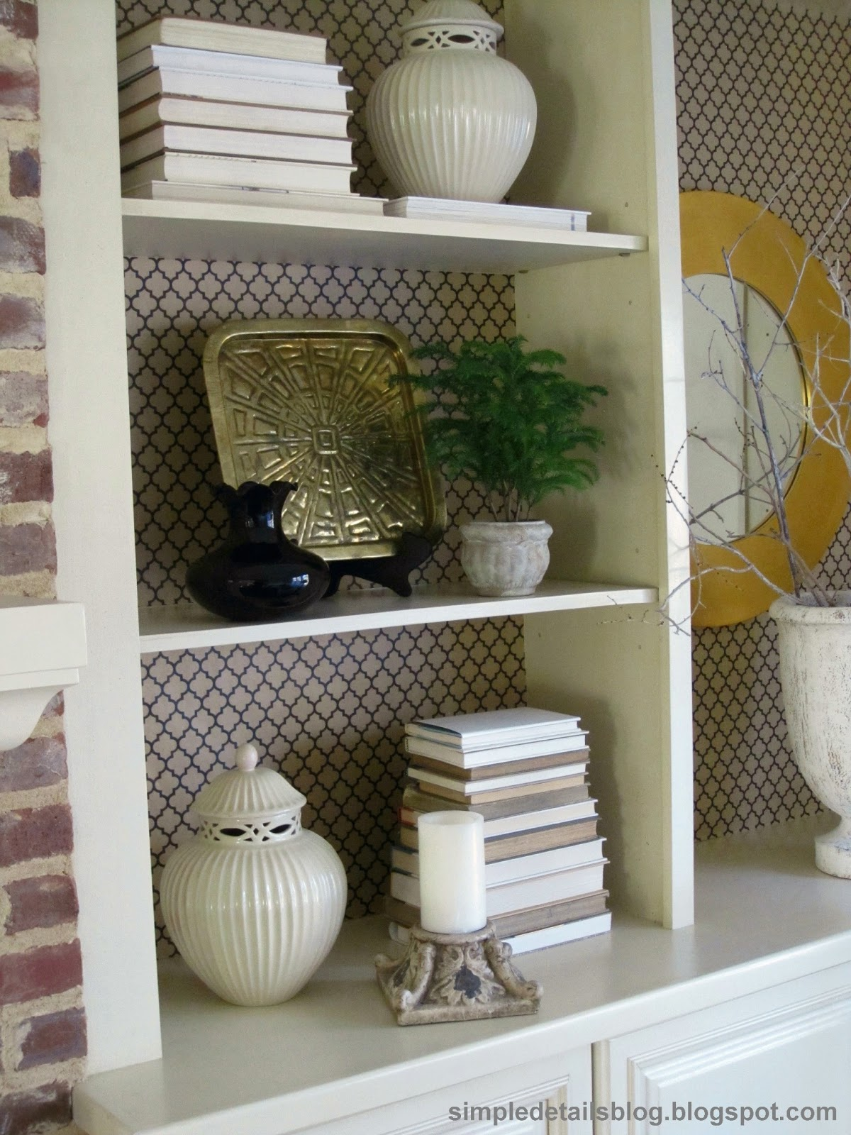 Simple Details: $6 diy bookcase makeover