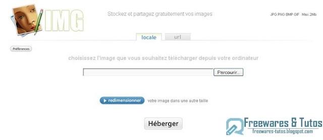 IMG : un service en ligne pour stocker et partager gratuitement vos images