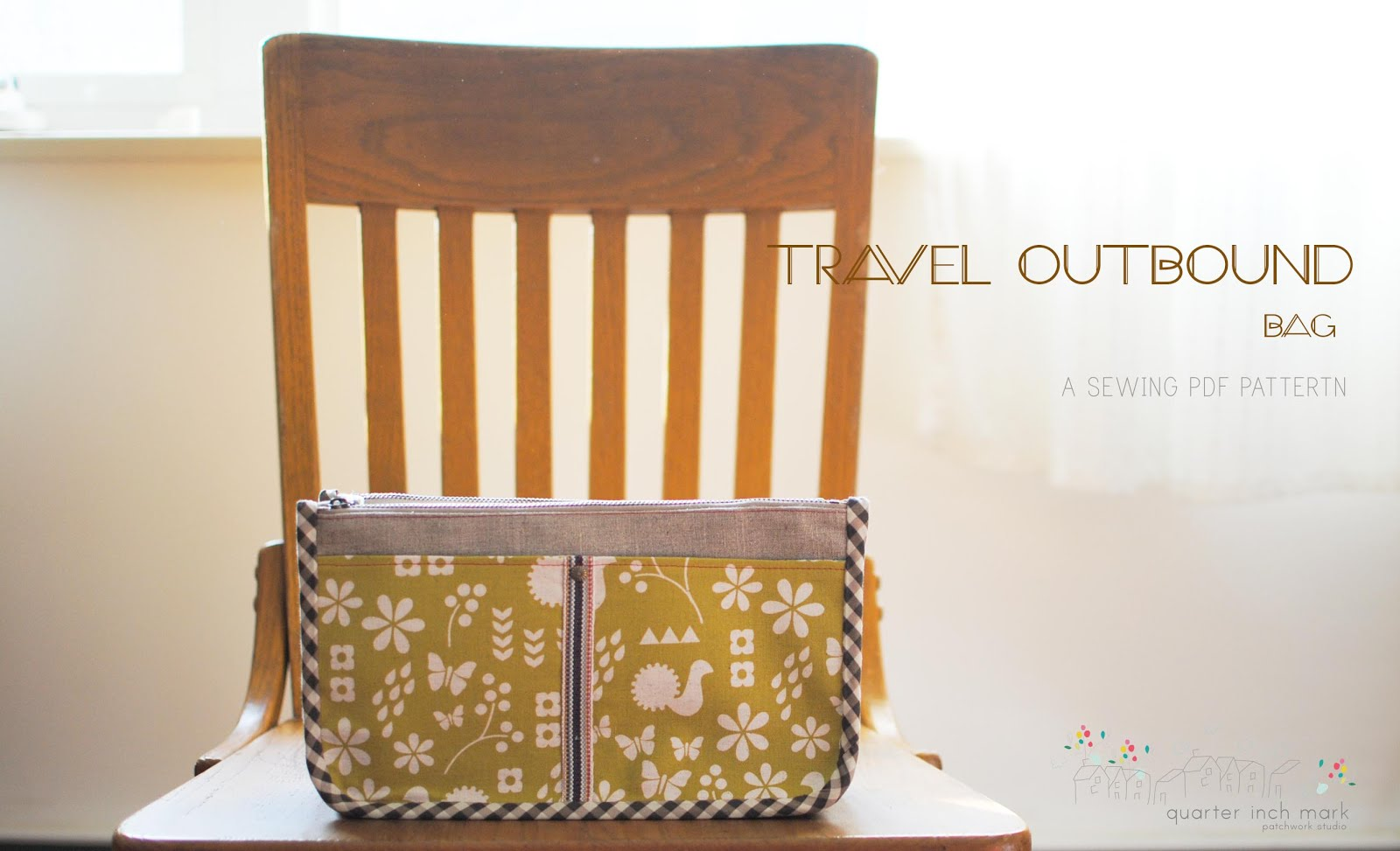 Travel Outbound Bag Sewing Pattern