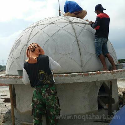 Jasa pembuatan kubah masjid bahan GRC