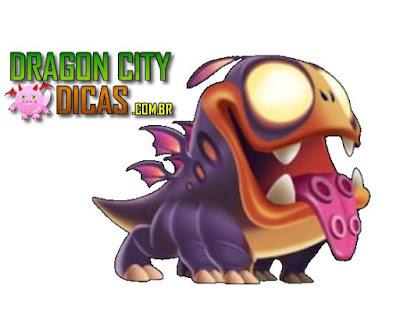 Dragão Mascote Alienígena