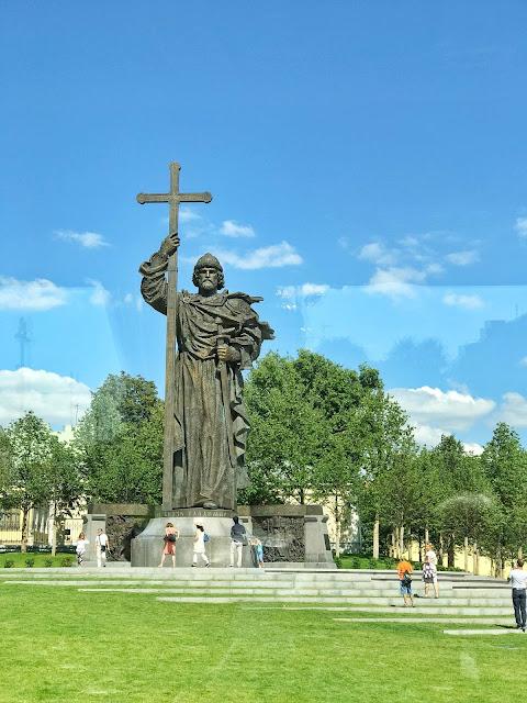 St Vladimir Statue