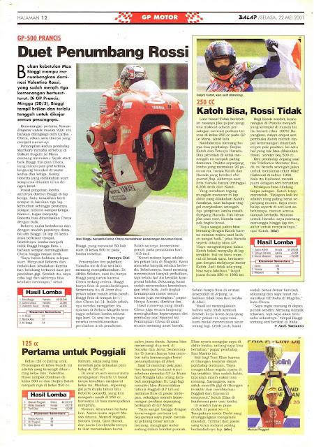BALAP GP MOTOR GP-500 PRANCIS