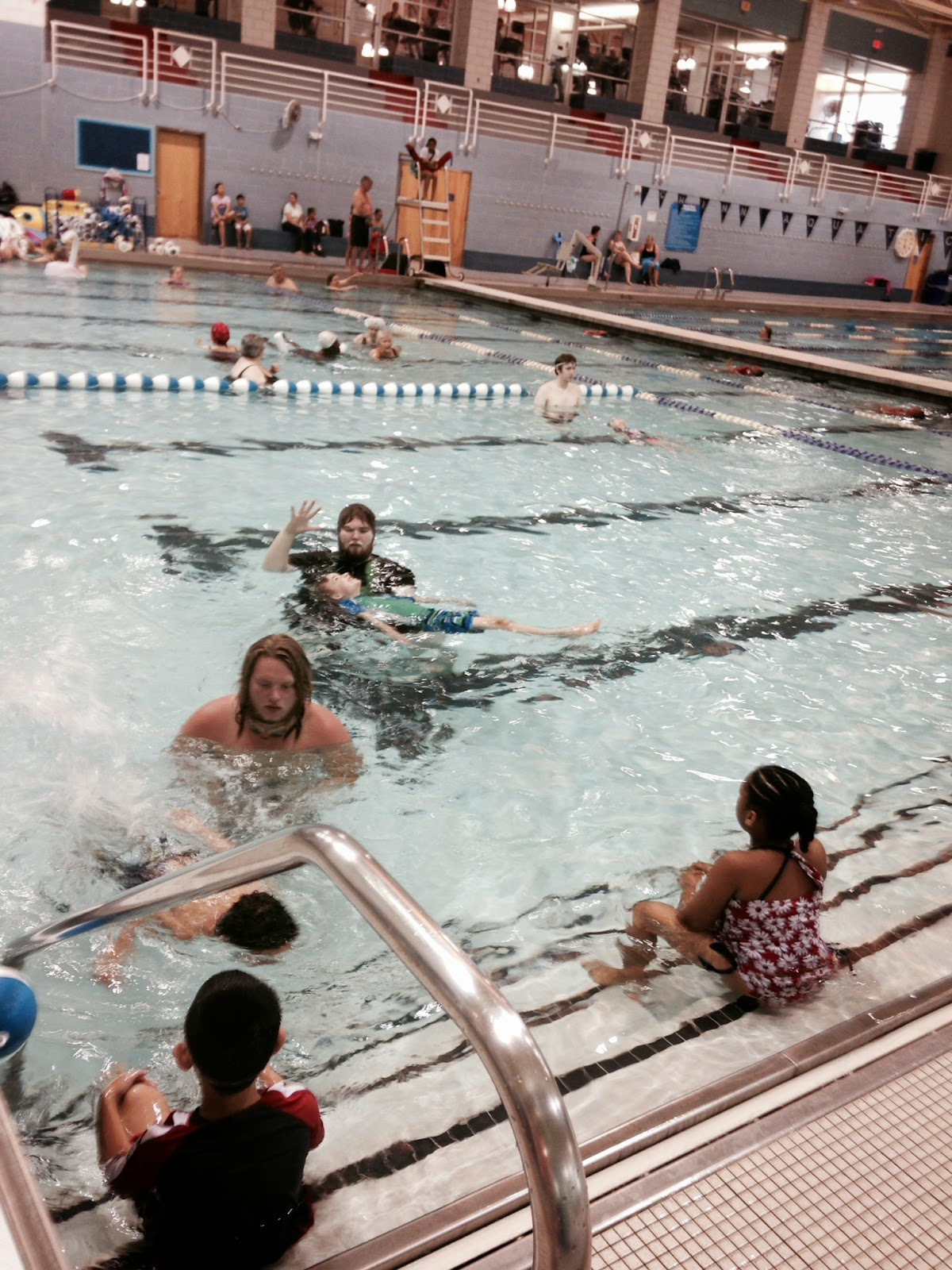 The OT Is In: Why you should put your kids in swimming