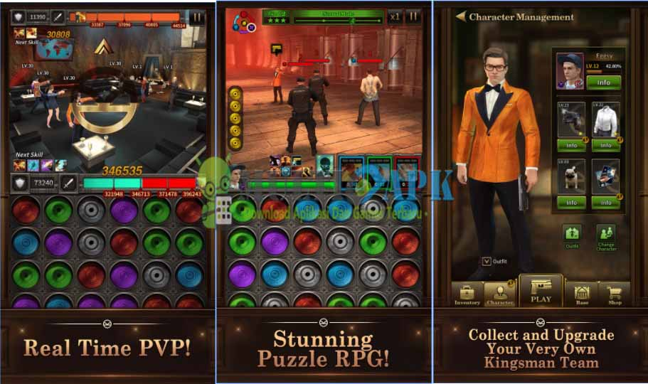 Kingsman The Golden Circle Game Apk Mod