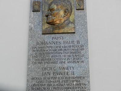Papież Jan Paweł II na wzgórzu Kahlenberg