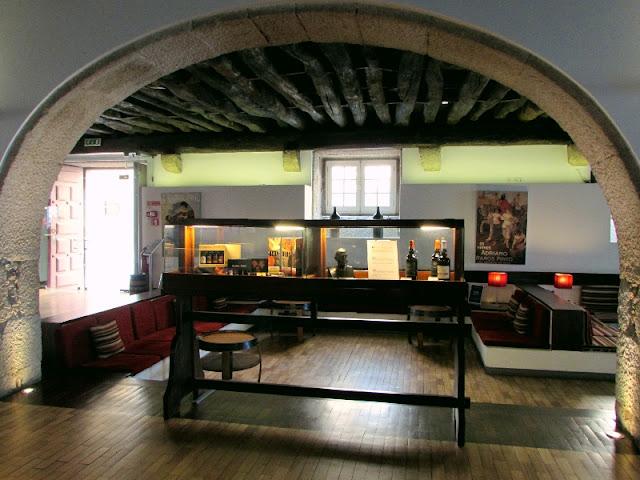 sala de provas de vinhos da casa Ramos Pinto