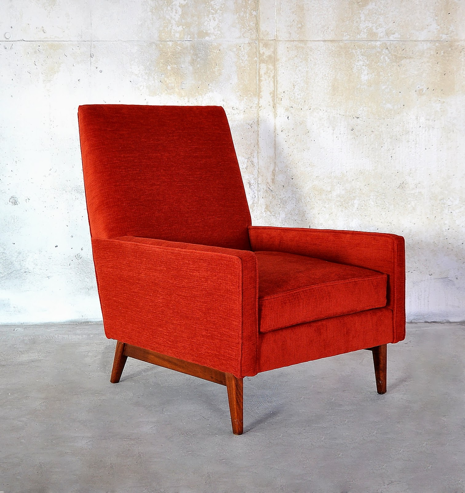 Select Modern Ed Wormley Style Club Lounge Chair