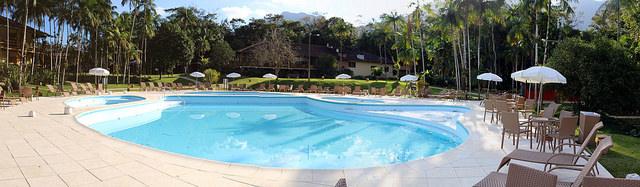 Bar au Brésil : bar de piscine