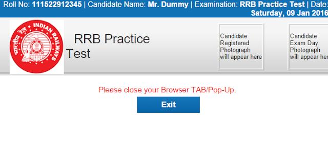 RRB Online Test, RRB Mock Test, RRB Online Practice Test