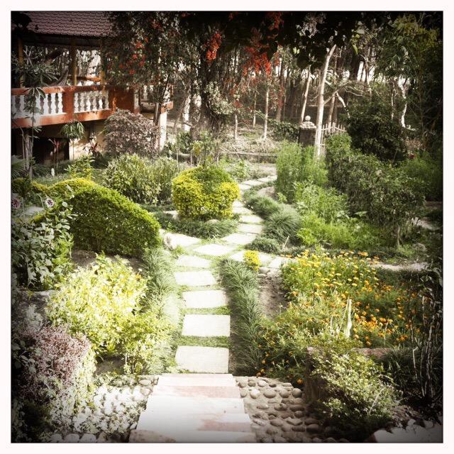 Santosh Puri Ashram Haridwar Garden