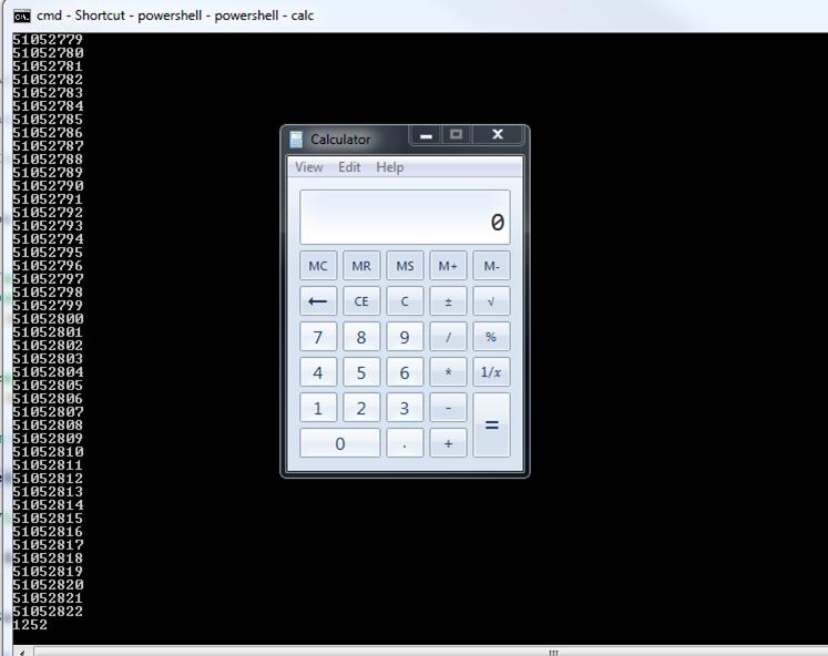 PowerShell, Shellcode, metasploit, x64 Carnal0wnage - Attack