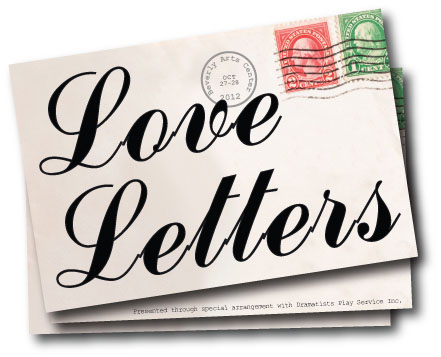 Professional Theater Series Opens with Love Letters
