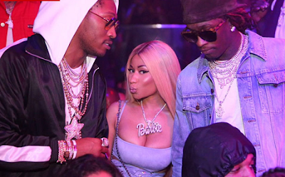 See how Nicki Minaj and Future rolled it into the new week