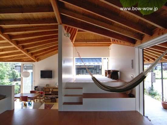 Arquitectura de casas casa contempor nea de techos for Casa moderna japonesa