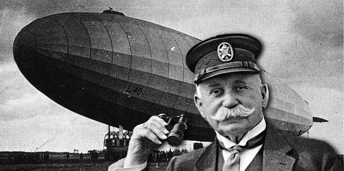 a look at count ferdinand von zeppelin and the hindenburg the largest airship