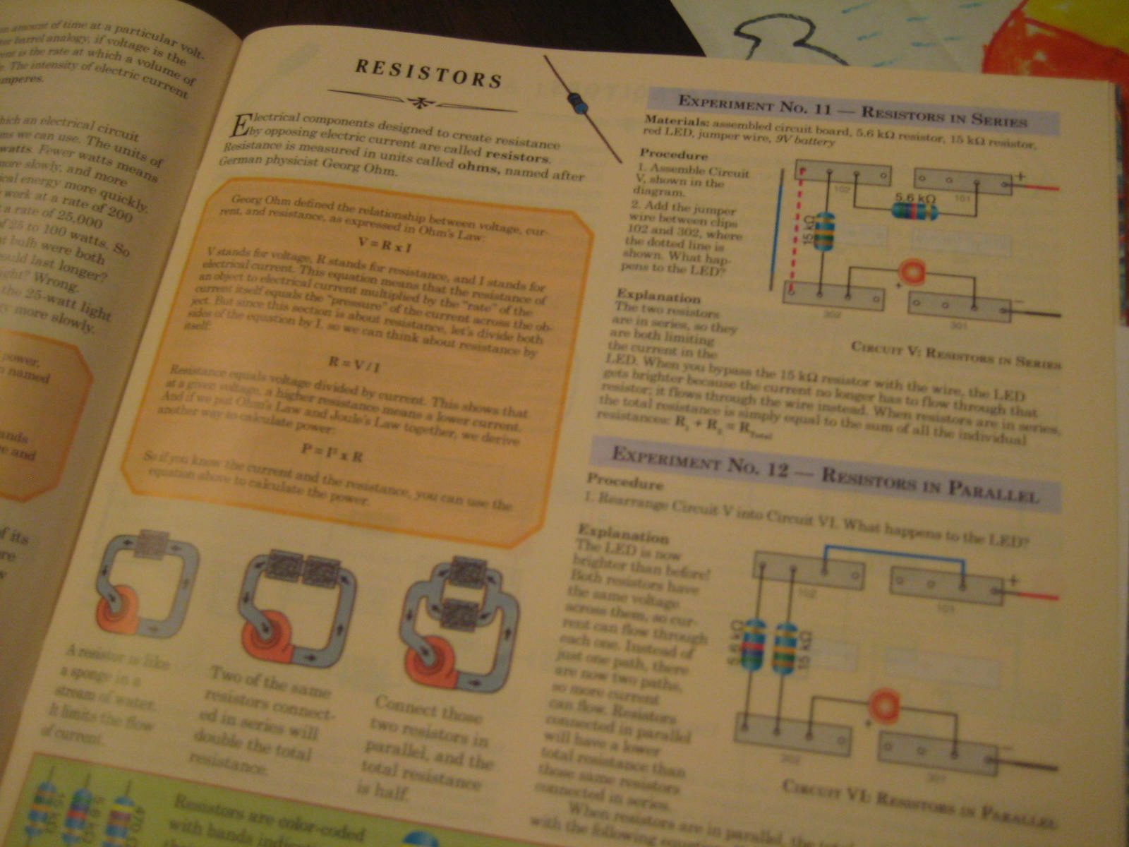 Theresas Trivia March 2012 Logic Gate Diagram In Gorgeous Schematic Actually This Manual Had Great Pictures Diagrams And Explanations Of Why The Experiments Work Right Before Colin Went To Bed They Were Doing An