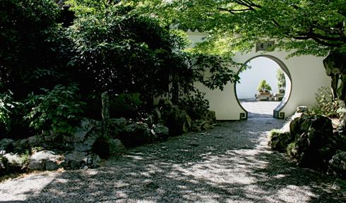 Lan Su Chinese Garden Portland Oregon