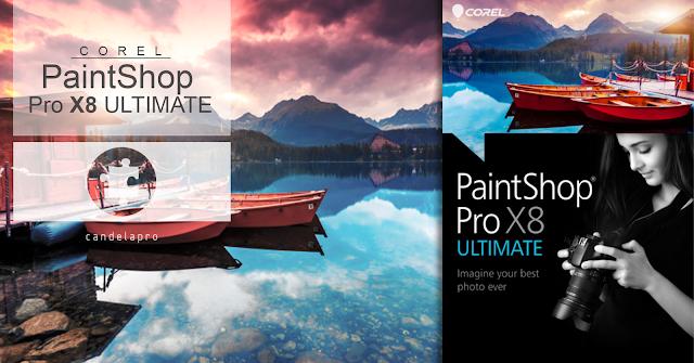 Corel PaintShop Pro X8 ULTIMATE | multilenguaje | win 32/64-bits