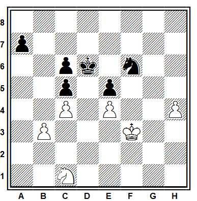 Final de ajedrez compuesto por Joaquim Travesset i Barba en 2012