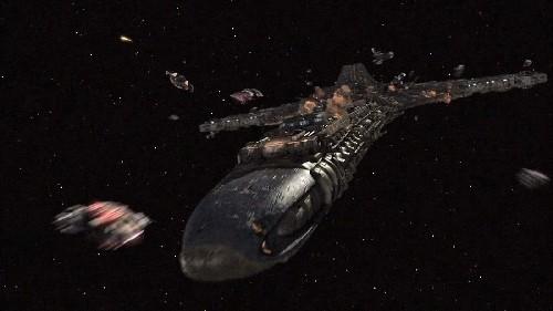 240 kilometers wide Spaceships are heading toward Earth