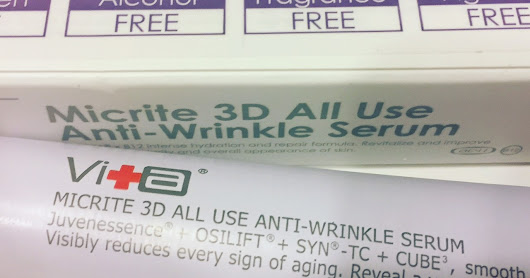 Swiss Vita All Use 3D Anti Wrinkle Serum Review
